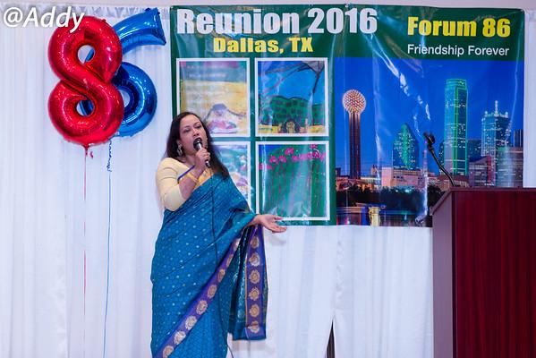 Forum 86 Reunion 2016  Dallas TX