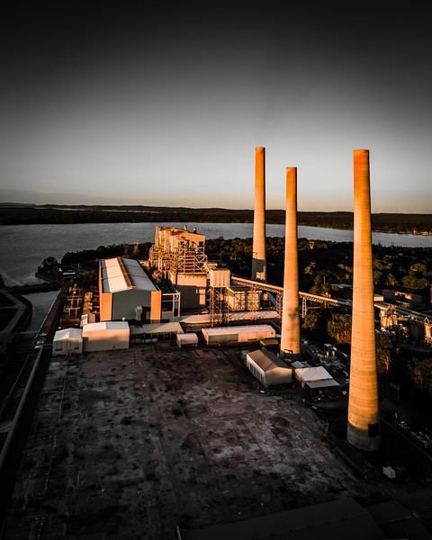 Coal versus the future: part of a photographic project I am developing on the world's fossil fuel addiction and existential crisis of climate change. This image is Vales Point power station on the NSW Central Coast.