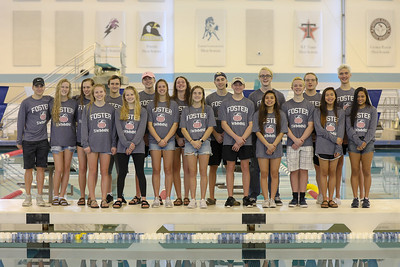 2018 FosterHS State Swim Team