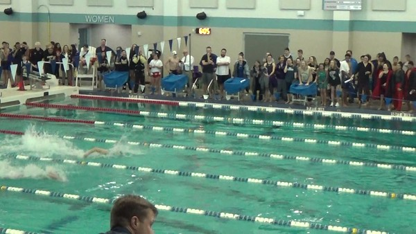 SwimOff 50 Free for 4th Place