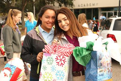 IWA seniors Mikaela Rendon (left) and Alexis Cervantes (right)