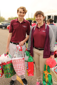 IWA senior Joseph Cook (left) and Marykathryn Charles (right)
