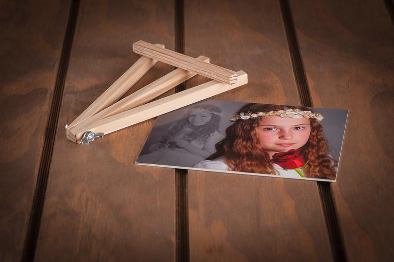 Atril de madera + foto personalizada