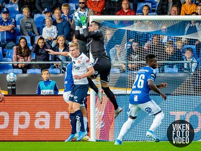 Sarpsborg 08s keeper Alexandre Letellier. Foto: Thomas Andersen