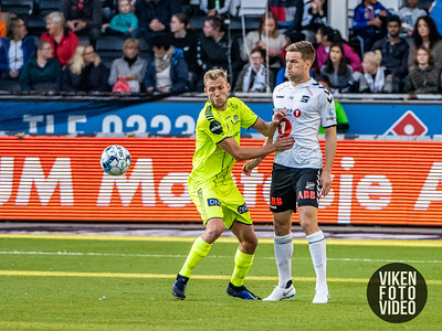 Sarpsborg 08s Jonathan Lindseth i kampen mellom Odd og Sarpsborg 08. Foto: Thomas Andersen