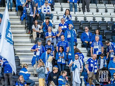 Disse så kampen mellom Odd og Sarpsborg 08. Foto: Thomas Andersen