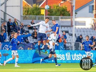 Sarpsborg 08s Kristoffer Zachariassen i kampen mellom Sarpsborg 08 og Stabæk. Foto: Thomas Andersen
