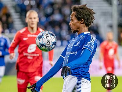 Sarpsborg 08s Amin Askar i kampen mellom Sarpsborg 08 og Brann. Foto: Thomas Andersen