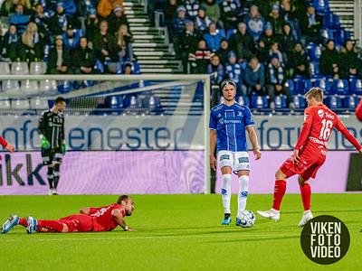 Sarpsborg 08s Bjørn Inge Utvik i kampen mellom Sarpsborg 08 og Brann. Foto: Thomas Andersen