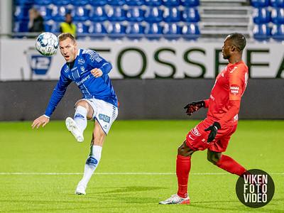 Sarpsborg 08s Magnar Ødegaard i kampen mellom Sarpsborg 08 og Brann. Foto: Thomas Andersen