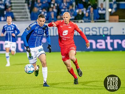 Sarpsborg 08s Mustafa Abdellaoue i kampen mellom Sarpsborg 08 og Brann. Foto: Thomas Andersen