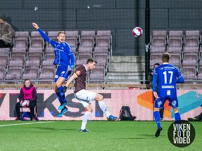 Sarpsborg 08s Niklas Gunnarsson i kampen mellom Mjøndalen og Sarpsborg 08. Foto: Thomas Andersen