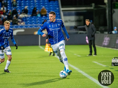 Sarpsborg 08s Kyle Lafferty i kampen mellom Sarpsborg 08 og Tromsø. Foto: Thomas Andersen
