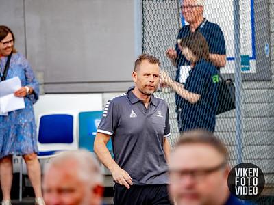Trener Mikael Stahre Foto: Thomas Andersen.