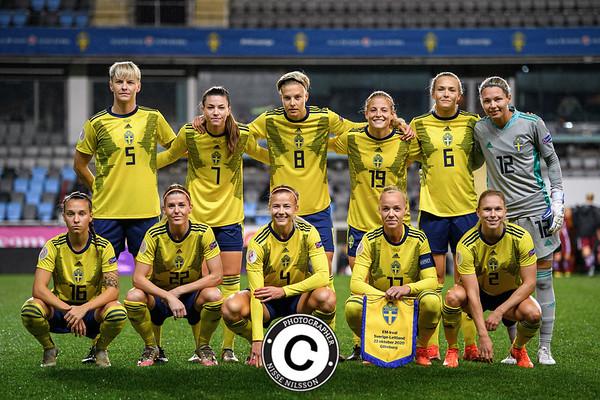 Football, UEFA Women's Euro Qualifier, Sweden - Latvia