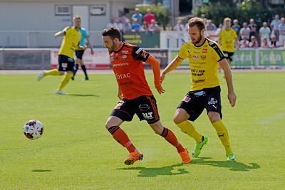 #5 Oskar Sverrisson, #10. Rasmus Holgersson