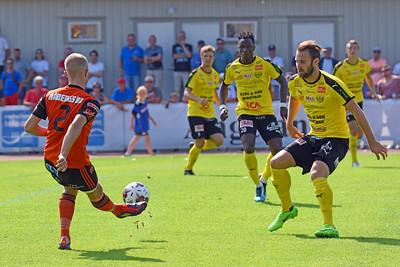 #5 Oskar Sverrisson, #2 Kevin Carlsson