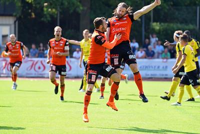 1-0 av #6. Fredrik Zickbauer, #10. Rasmus Holgersson
