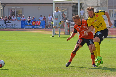 #5 Oskar Sverrisson, #15 Anton Sigvardsson