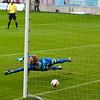 1-0 Kalmar FF på en billig straff. #30 Jacob Rinne