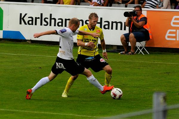 Mjällby AIF - Örebro SK 9 augusti 2014