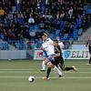 Paulo de Oliveira hade svårt att hitta målet