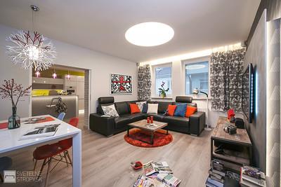 Obývačka s CIR zápustným