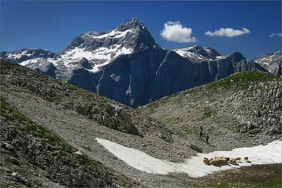 Triglav from Jezerca plateau