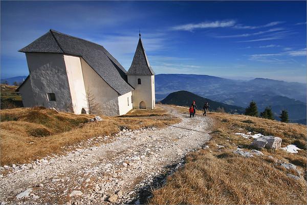Uršlja gora - St. Ursula church