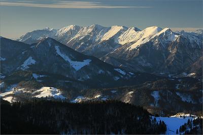 Peči - Spodnje Bohinjske gore range