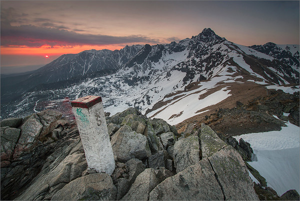 Sunrise in the Tatra Mountains II