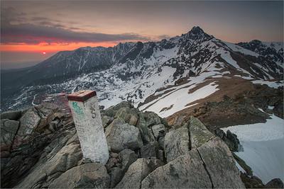 Sunrise in the Tatra Mountains II