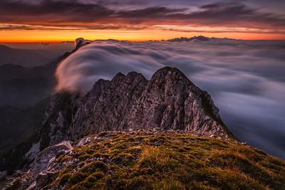Milky Alps