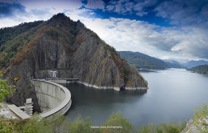 Barajul Vidraru, toamna 2016