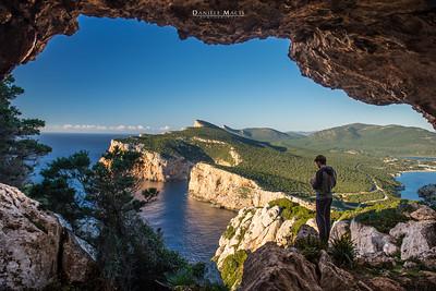 La Grotta dei Vasi Rotti - Capo Caccia - Alghero