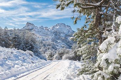 Neve - Monte Limbara