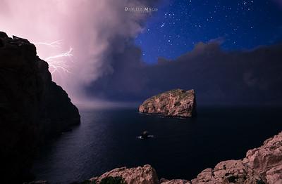 Fulmini su Capo Caccia - Alghero
