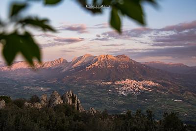 Panorama dal Monte Ortobene - Nuoro