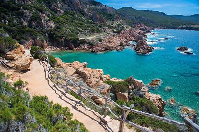 Sentiero per la Spiaggia di Li Cossi - Costa Paradiso