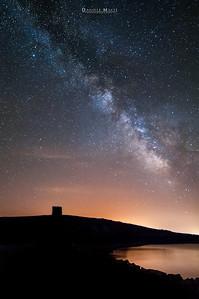 Via Lattea sulla Torre di Trabuccato - Asinara