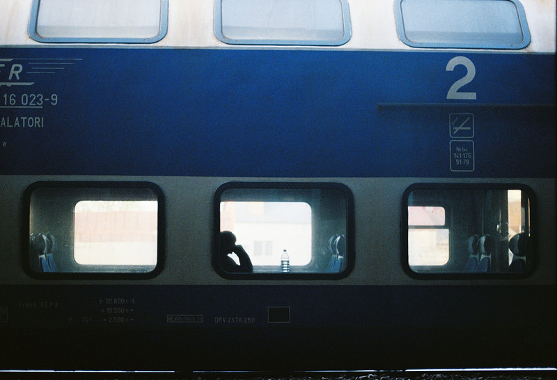 Asteptare. martie 2019, film 35mm