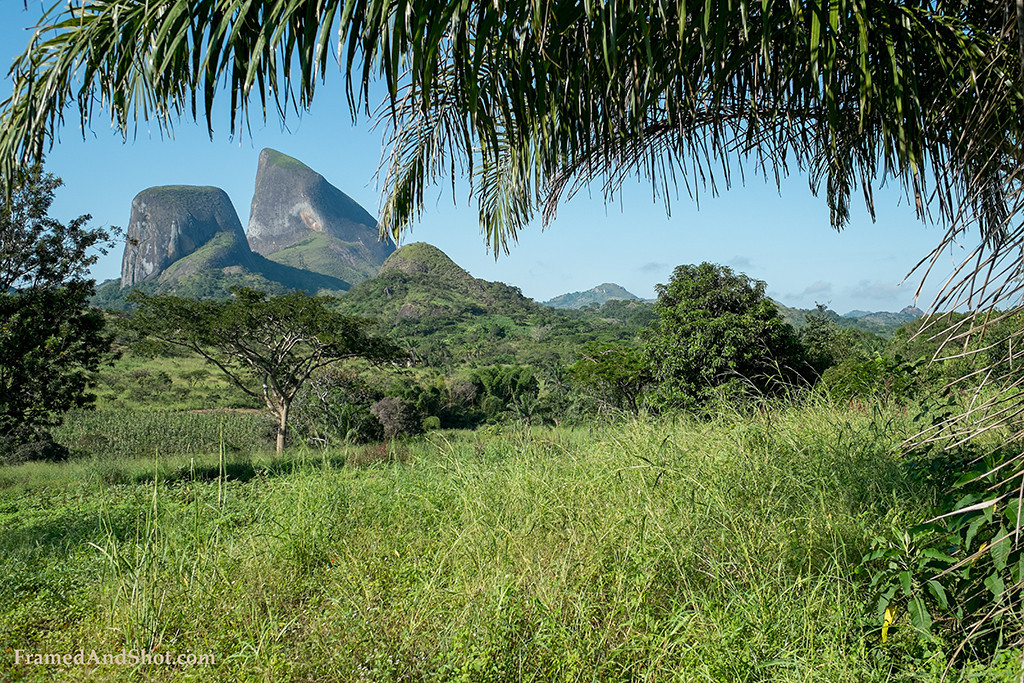 Travel description of a trip in the Cuanza Sul Province of Angola