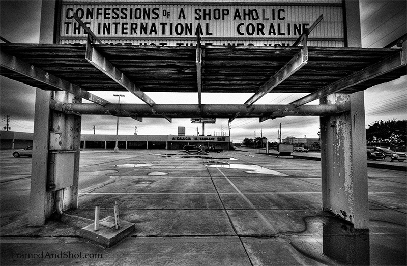 <h4>The Final Confessions of a Shopaholic<br> But she would not have confessed to shopping here….This is a run-down strip mall along Westheimer Pkw in Houston.