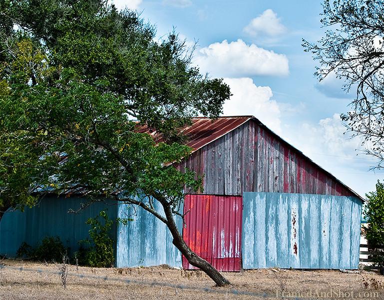<h4>Red Barn Door