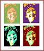 Portret Andy Warhol stijl / Fotobewerking met Photoshop CS5 Extended