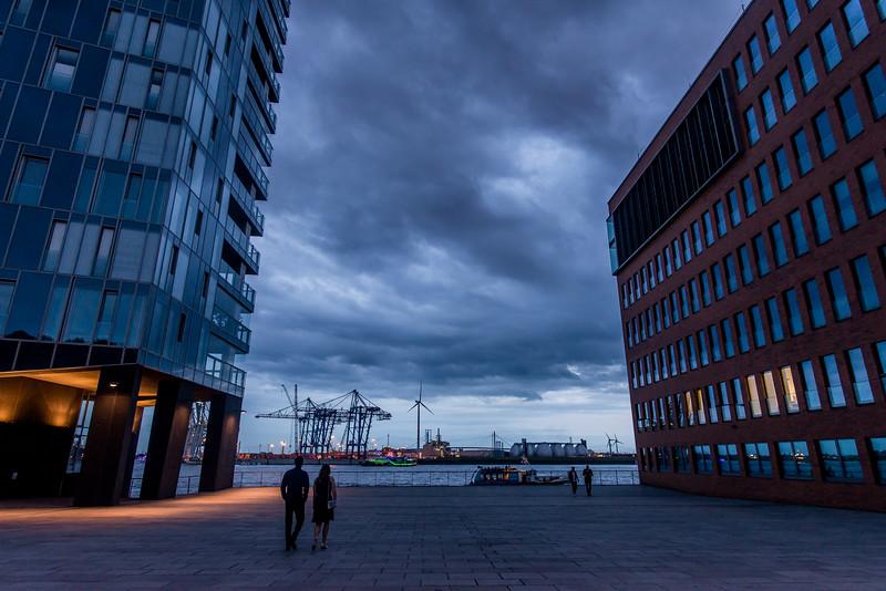 Zwischen Fischmarkt und Docklands