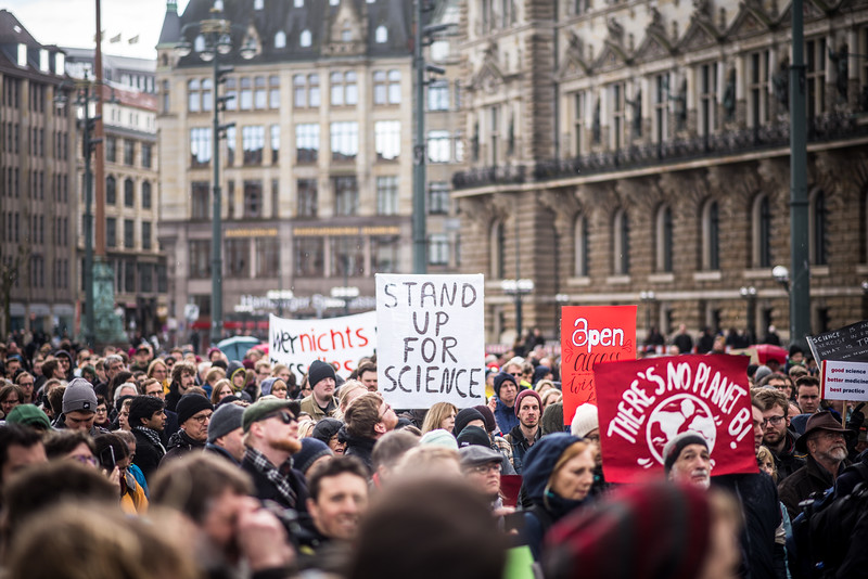 March For Science, Hamburg