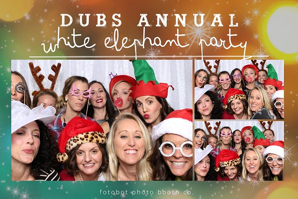 Dubs Annual White Elephant Christmas Party 2016