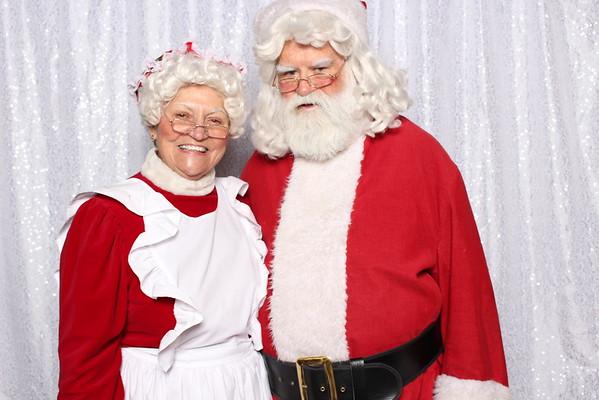 Selfies with Santa - The Volpe Team 2016