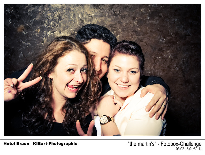 """the martin's"" - Fotobox-Challenge"